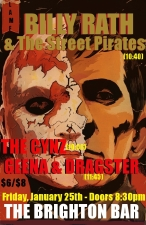 Billy Rath & The Street Pirates / The Cynz / Geena and Dragster