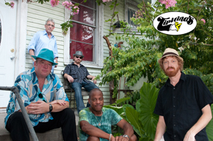 New Orleans Suspects featuring Reggie Scanlan (Radiators), Mean Willie Green (Neville Brothers) / , Jake Eckart (Dirty Dozen Brass Band), CR Gruver (Outformation), and Jeff Watkins (James Brown)