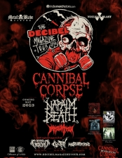 Cannibal Corpse featuring Napalm Death / Immolation
