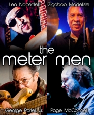 The Meter Men : George Porter Jr., Leo Nocentelli, Zigaboo Modeliste & Page McConnell of Phish