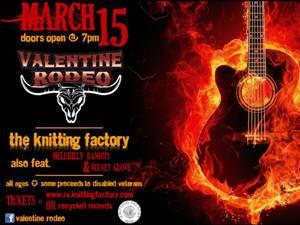 Valentine Rodeo featuring Hellbilly Bandits / Velvet Glove