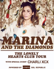 Marina & the Diamonds featuring Charli XCX