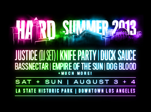 HARD SUMMER MUSIC FESTIVAL 2013