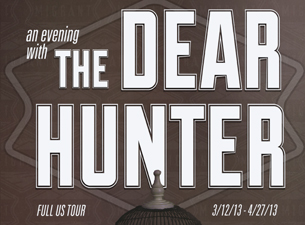 An Evening with The Dear Hunter with Naive Thieves