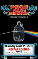 POOR MAN'S WHISKEY performing DARK SIDE OF THE MOONSHINE w/ Left Coast Country / Spare Rib & The Bluegrass Sauce
