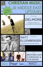 Delmore featuring Matt Ellenberger , Brother Sam Slideshow , Evin Baird Trio