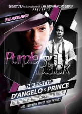 PURPLE and BLACK - The best of Prince and D'Angelo