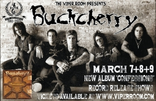 Buckcherry with Cherri Bomb