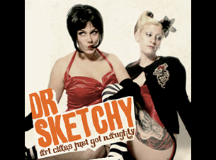 Dr. Sketchy's Anti-Art School : Drink & Draw Event