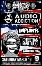 Audio Addiction : Implants : Christian Martucci : Bankers Hill