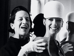 Banana Republic presents DIANA VREELAND: THE EYE HAS TO TRAVEL : Hosted by Mark Rhoades : Q&A with Director Lisa Immordino Vreeland by fashion icon Joy Bianchi