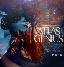 Atlas Genius with Cayucas / Happy Hollows