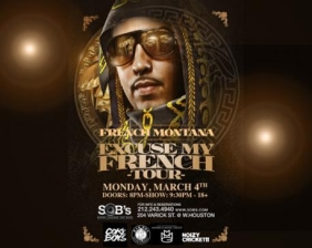 FRENCH MONTANA featuring EXCUSE MY FRENCH TOUR