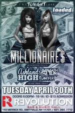 Millionaires featuring Ashland High / Beneath The Sun / Lancifer / Adjusting To Life