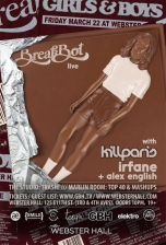 Girls & Boys with Breakbot + Killparis + Irfane + Alex English