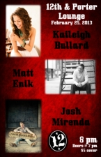 LOUNGE:, Kaileigh Bullard with Matt Enik and Josh Mirenda