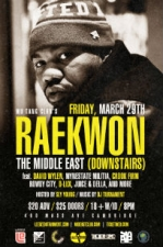 Raekwon The Chef (of the Wu-Tang Clan)