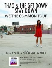 Thao & The Get Down Stay Down plus Sallie Ford & the Sound Outside