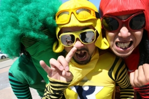 Peelander Z with Truckasaurus / The Hate