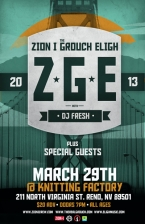 Zion I / The Grouch / Eligh with Alexander Spit