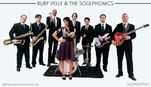 Ruby Velle & The Soulphonics with Derobert & the Half Truths