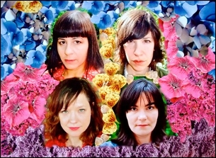 WILD FLAG (SLEATER-KINNEY girls plus Mary Timony) with Grass Widow / Eux Autres