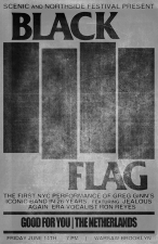 Black Flag with The Men / Good For You / The Netherlands