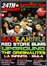 Raskahuele featuring Red Store Bums / Upground / The Originalites / La Infinita / Mula