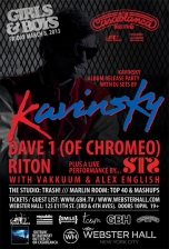 Girls & Boys feat. Kavinsky + Dave 1 + Riton + STS + VAKKUUM + Alex English