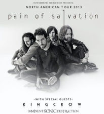 Pain of Salvation plus Kingcrow / Imminent Sonic Destruction / Awaken