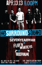 HB Surround Sound with Flipin' Whities / Reeform / Seven Year War