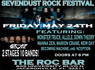 Sevendust with Pop Evil, Monster Truck, Allele