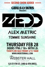 Girls &amp; Boys feat. Zedd + Alex Metric + Tommie Sunshine / Alex English / rekLES