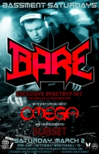 BASSMENT SATURDAYS featuring Bare / Omega / Subset