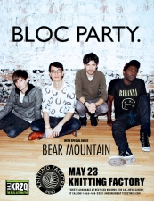 Bloc Party. featuring Bear Mountain