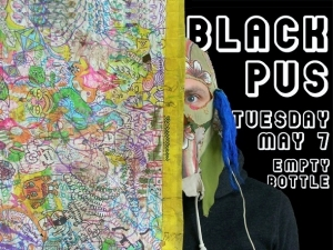 Black Pus (Brian Chippendale of Lightning Bolt) / Oozing Wound / Mounds