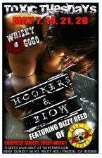 Toxic Tuesdays with HOOKERS & BLOW featuring DIZZY REED OF GUNS N ROSES