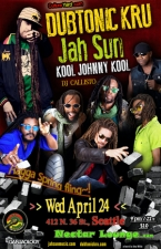 Dubtonic Kru and Jah Sun with Kool Johnny Kool & Callisto