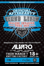 PR Entertainment & Ruby Skye Official Tiesto Afterparty featuring Alvaro / Erik Lobe / FM Marc / Alex Martinez / Dj Freez / DJ Kronyak