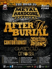 After The Burial with Within the Ruins / The Contortionist / Glass Cloud / City In the Sea