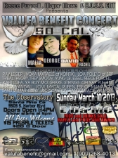 VALU FA BENEFIT CONCERT