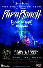 Papa Roach featuring Escape the Fate / Cathercist