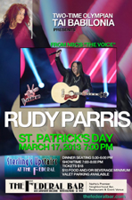 ST. PATRICK'S DAY STERLING SHOW WITH RUDY PARRIS FROM NBC's THE VOICE