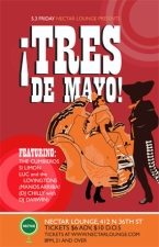 TRES DE MAYO featuring The Cumbieros, Si Limon, Luc And the Lovingtons and ¡Manos Arriba!