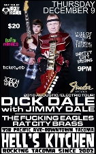 DICK DALE w/JIMMY DALE with The F*CKING EAGLES / RAT CITY BRASS
