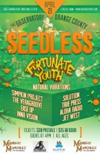 Seedless featuring Fortunate Youth / Natural Vibrations / The Simpkin Project / True Press / Ease Up