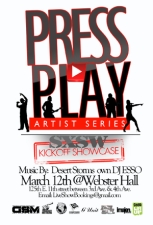 Press Play Artist Series : SXSW Kickoff Showcase / DJ ESSO