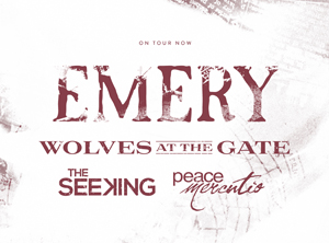 Emery plus The Seeking / Peace Mercutio / Lido Beach (album release show) / Lovelectric