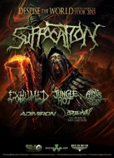 Suffocation / Exhumed / Jungle Rot / Rings of Saturn / Admiron