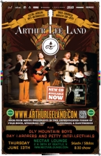ARTHUR LEE LAND (acoustic looper) with Day Laborers and Petty Intellectuals / Oly Mountain Boys
